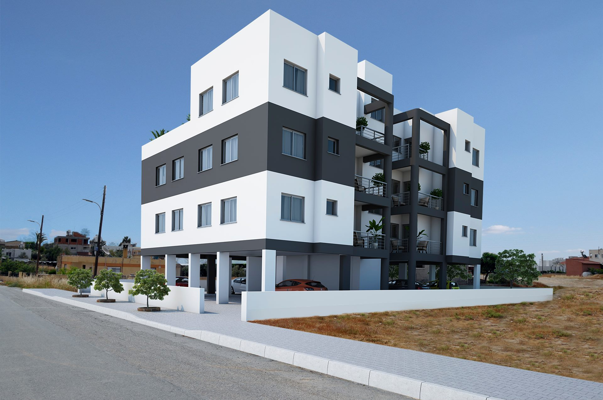 TURKISH-TITLE-2+1-NEW-BUILD-APARTMENTS---GÖNYELİ,-LEFKOŞA-GN27B