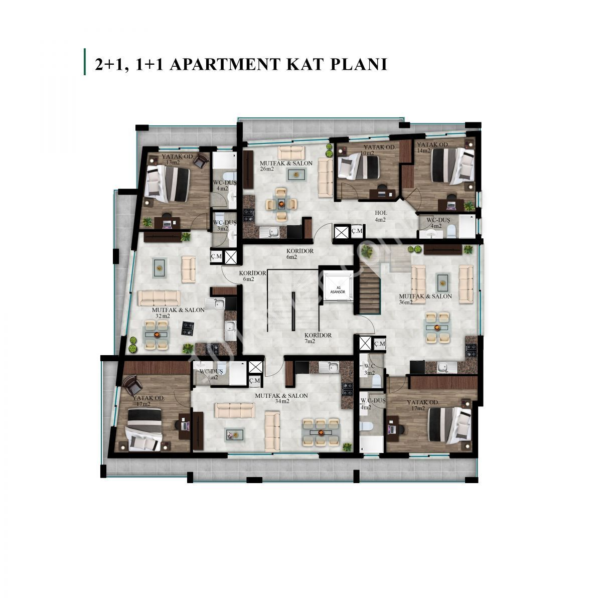 LUXURY-ONE-BEDROOM-APARTMENT-IN-YENİŞEHİR,-NICOSIA-YES01A